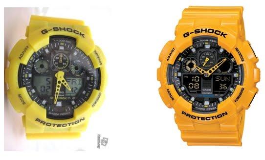 G-Shock Original & Tiruan