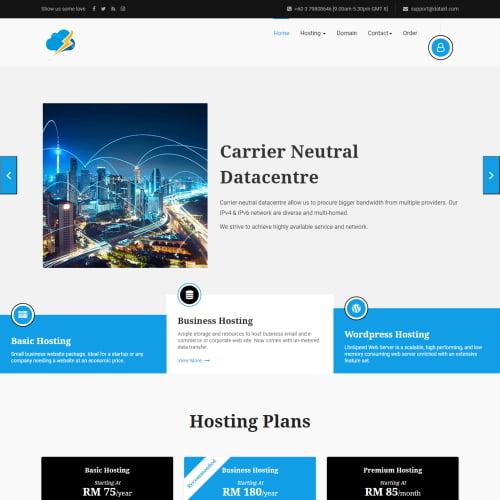 datakl web hosting malaysia